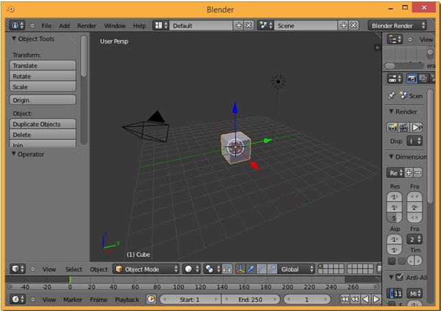 Loading Scenes from Blender – BabylonJS Series part 13