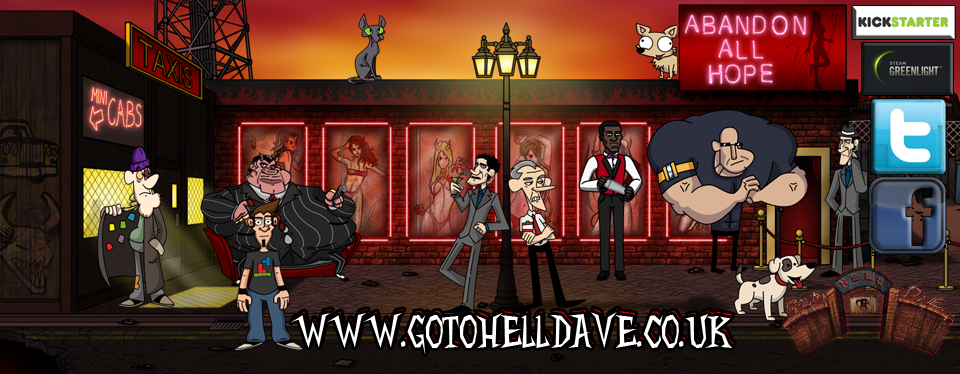 """Go To Hell Dave"" – A Game of Strange Puzzles"