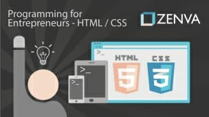Programming for Entrepreneurs – HTML & CSS (FREE course by Zenva)