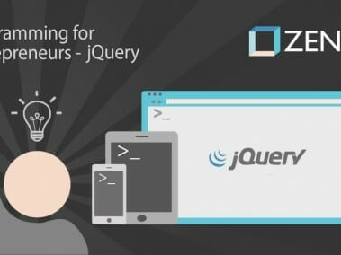 Programming for Entrepreneurs - jQuery