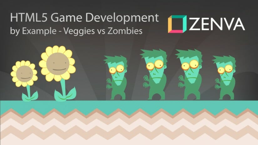 HTML5 Mobile Game Development by Example - Veggies vs Zombies