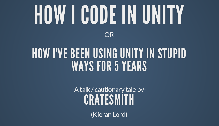 Lessons Learned in Unity After 5 Years
