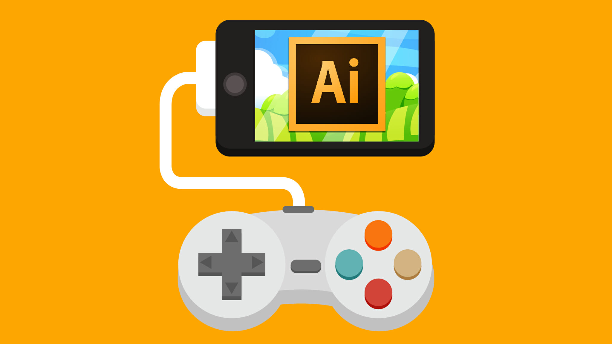 Make Mobile Game Art with Adobe Illustrator