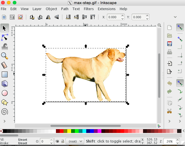 inkscape-selected-box