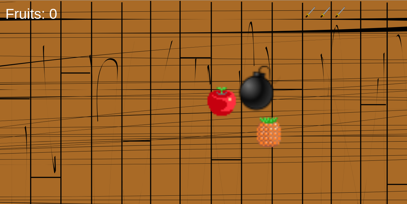 Ninja fruit cutter game free download - Game Over Screen