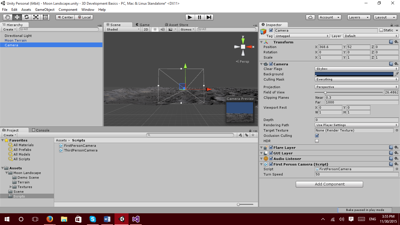 Unity 3D First and Third Person View Tutorial – GameDev Academy