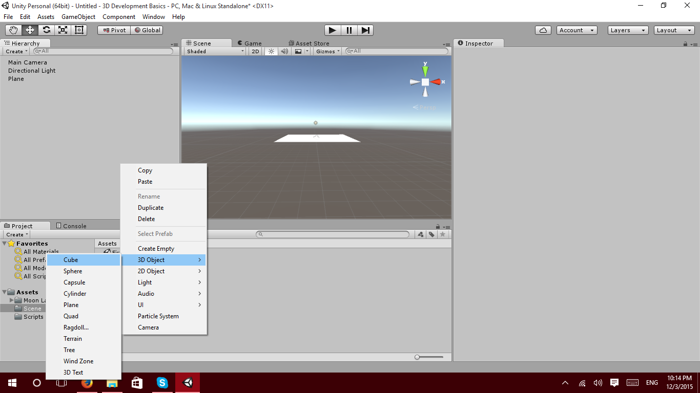 Unity 3D First and Third Person View Tutorial – Zenva