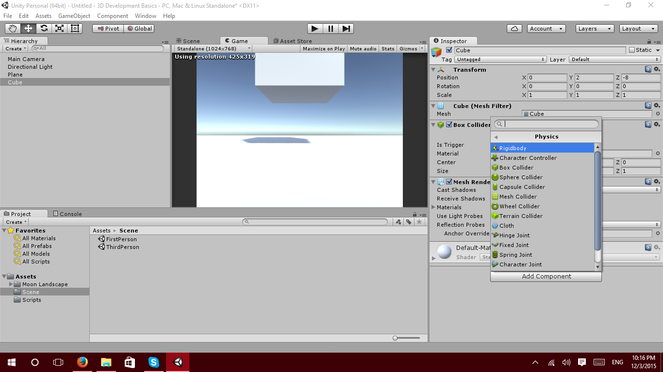 Unity Collision Detection Without Rigidbody