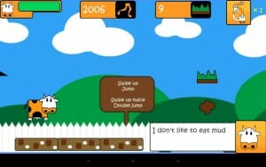 Manovache Embark on some calcium efficient adventures with ManOVache, a sprinter who's Lactose adventures turn awry when his lack of milk consumption leads him to...turn into a cow? Play as both cow and man in this fun free running game. Just avoid the mud piles!