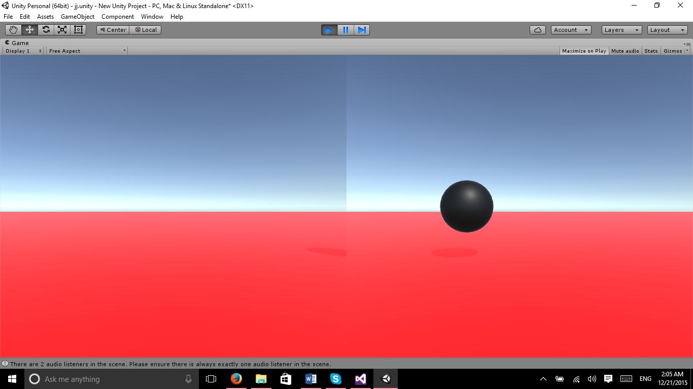 Vertical Split Screen