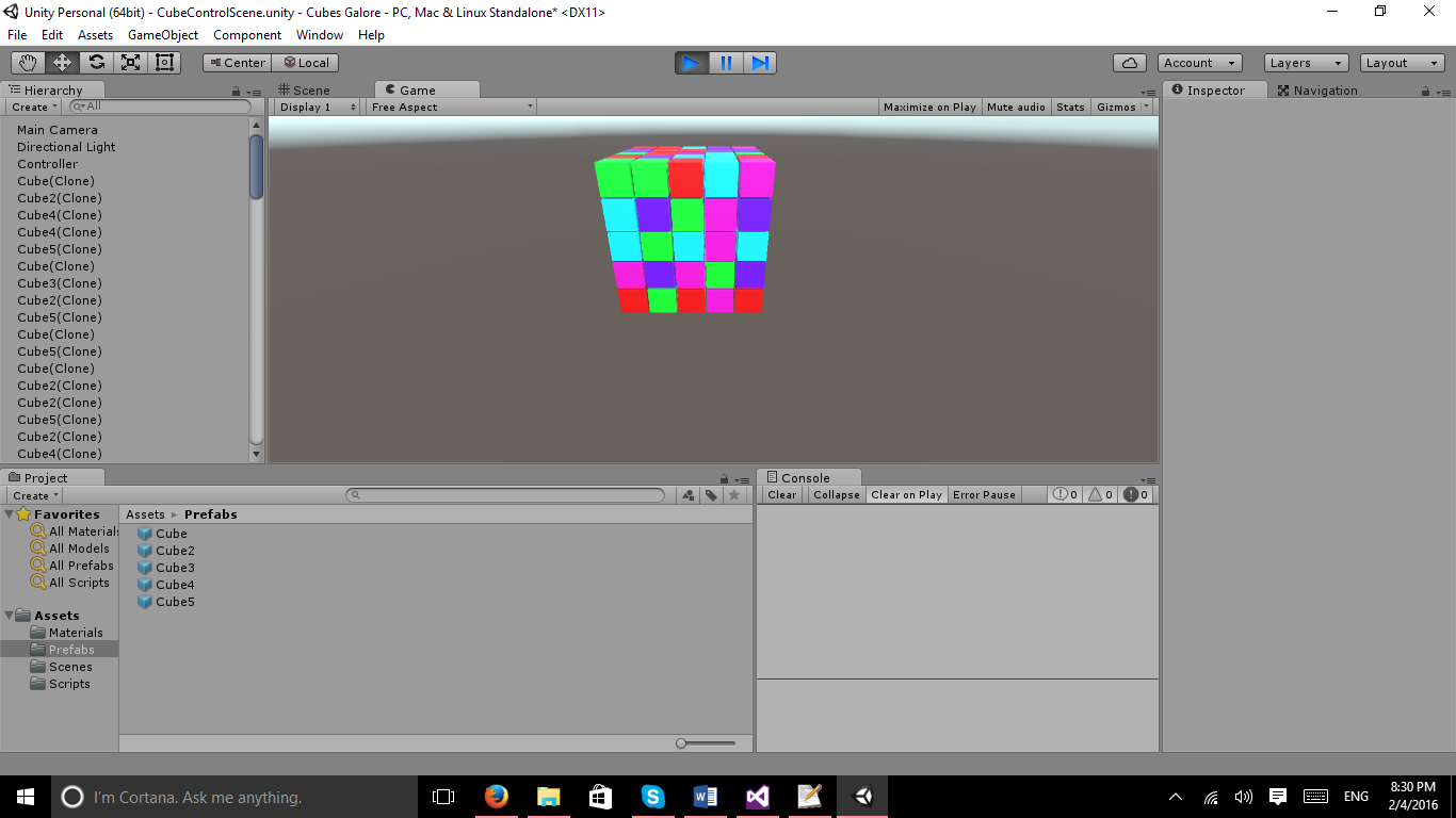 How to Build 3D Algorithms with Unity3D