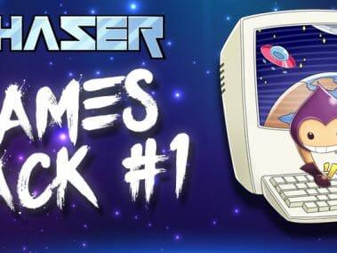 Phaser Games Pack 1