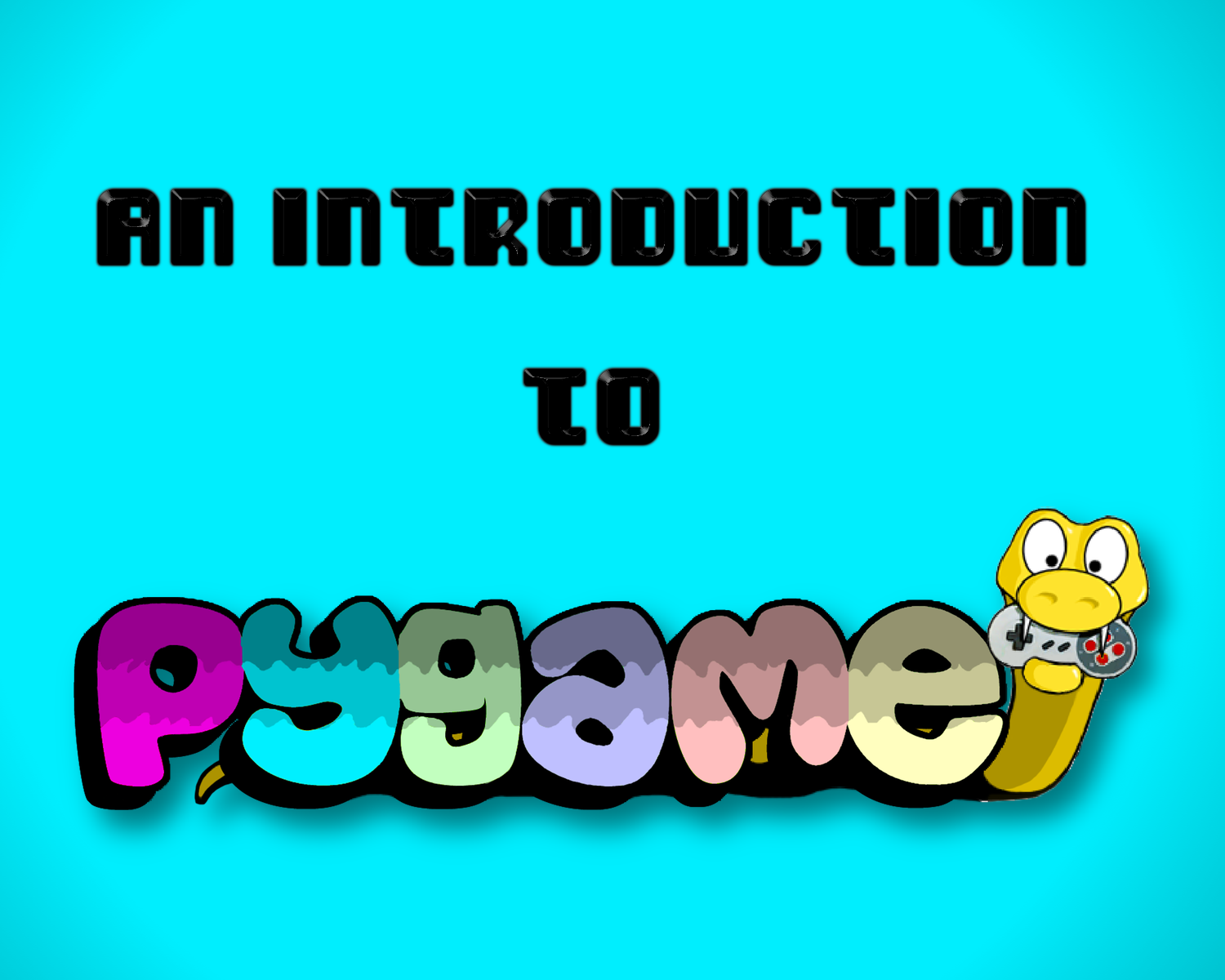 A Comprehensive Introduction to Pygame
