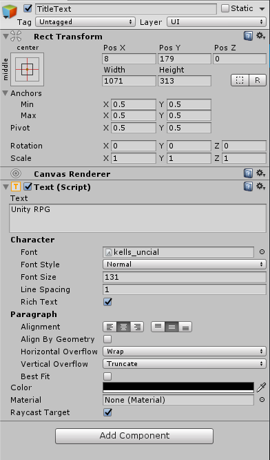 Unity Set Rotation Of Object