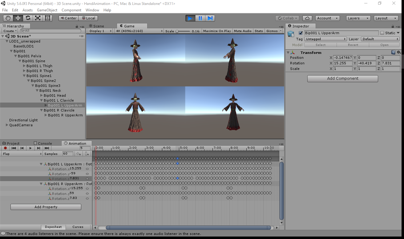 How to Create Animations from Models and Sprites within Unity – Zenva