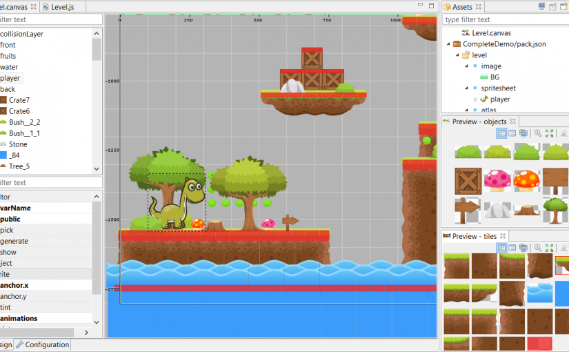 Make a Mario-Style Platformer with the Phaser Editor – Zenva