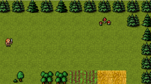 Phaser 3 game scene with Player sprite added