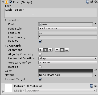 Using Unity's Scriptable Object System: Pizzaria Project