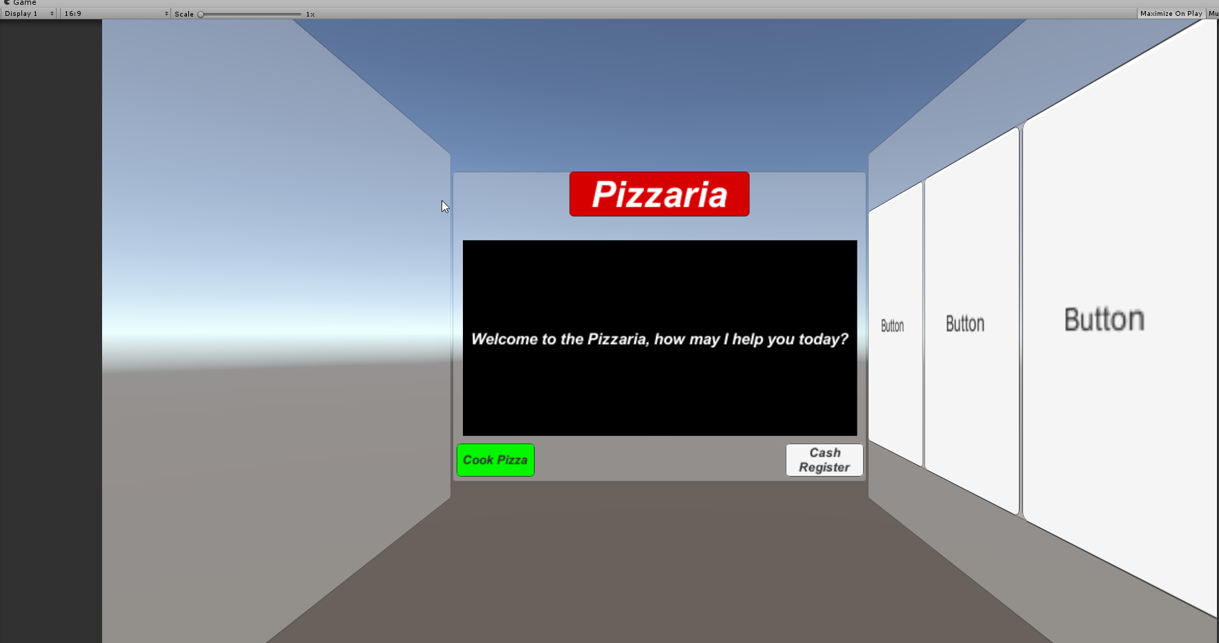 Using Unity's Scriptable Object System – Pizzaria Project – Part 2