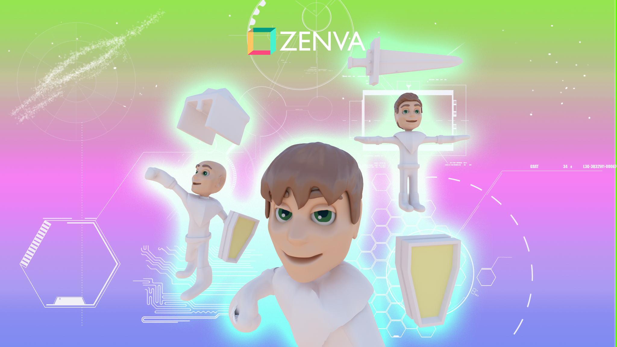 Web Class: Game Character Customization with the Unity Multipurpose Avatar tool