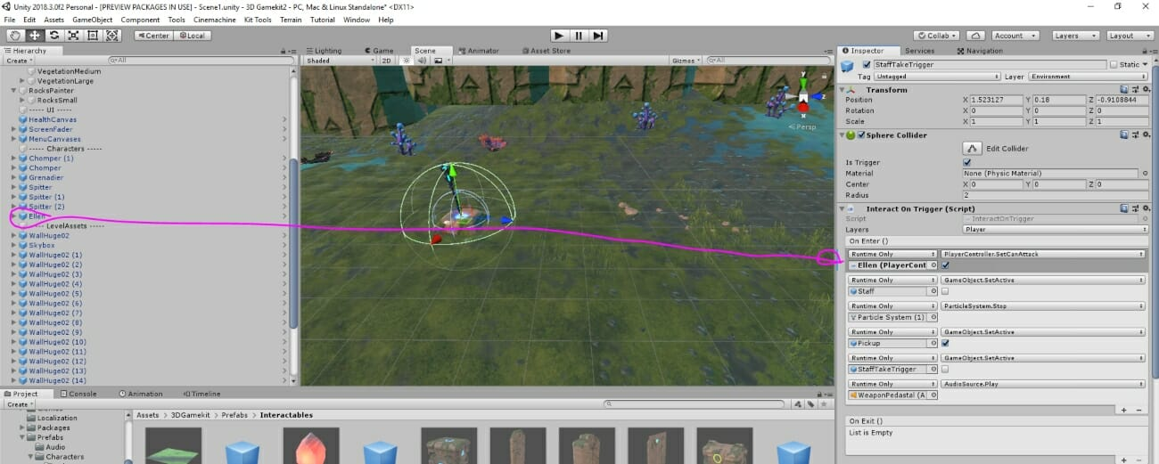 Create Games with the 3D Game Kit – GameDev Academy
