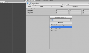 IK Manager 2D Component in Unity