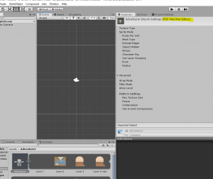 Unity PSD Importer Editor information