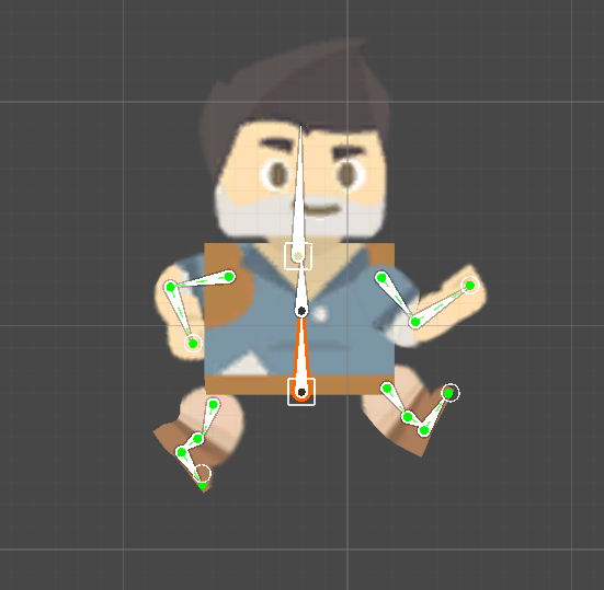 Run animation pose #3