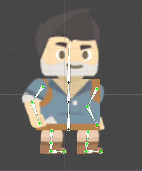 Idle animation pose #2