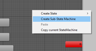 Creating our first Sub-State Machine
