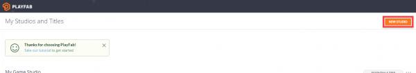 Azure PlayFab developer page