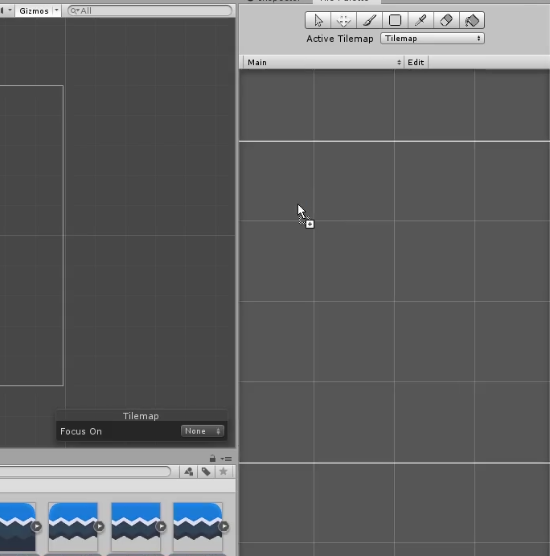 Unity with empty Tile Palette