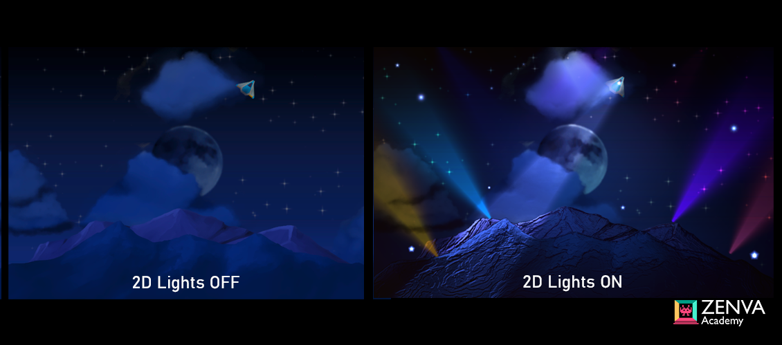 Create 2D Lights with Unity's Universal Render Pipeline