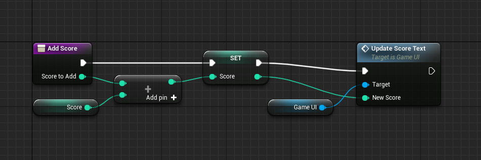 AddScore logic with UI logic added