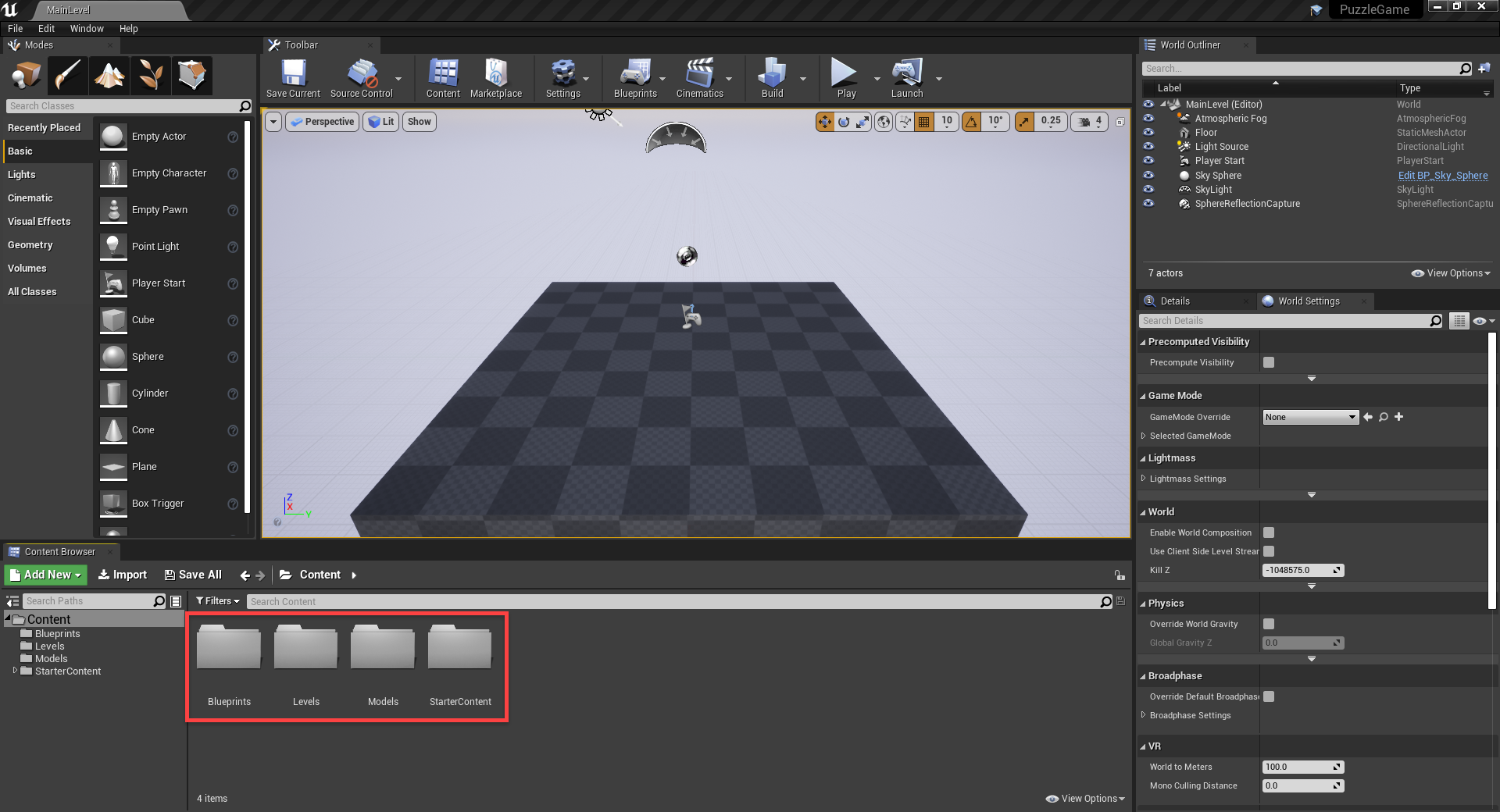 unreal engine editor