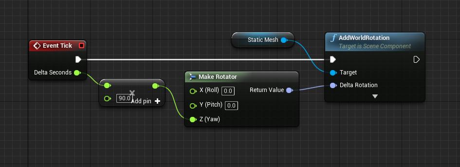Gem Event Tick logic for Unreal Engine platformer
