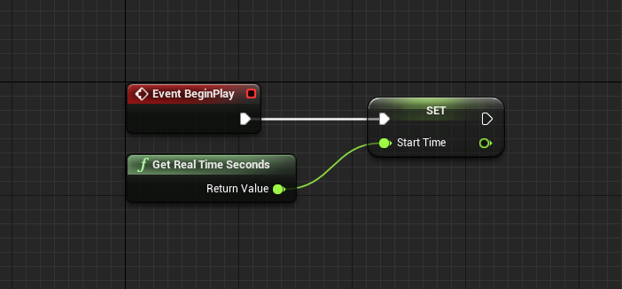 Event Graph for Bullet blueprint in Unreal Engine
