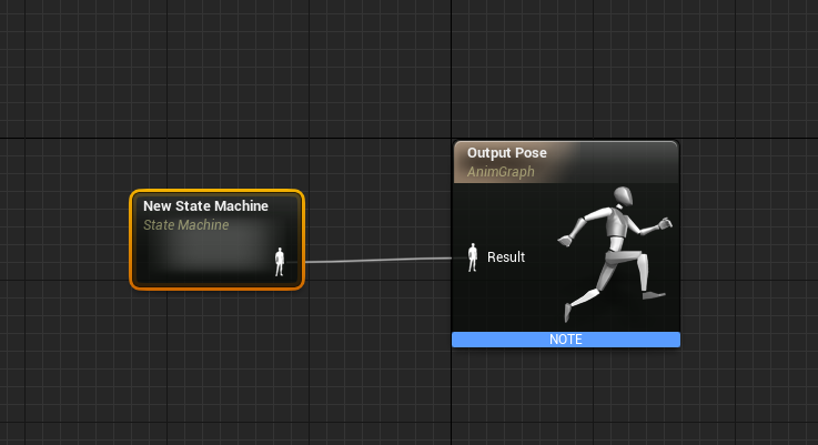 New State Machine node for AnimGraph
