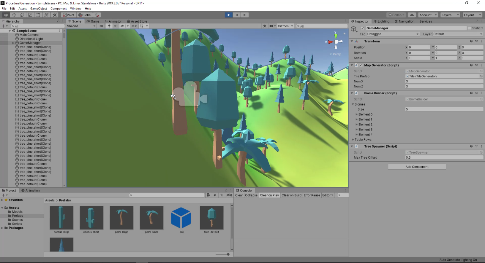 Unity Editor overview