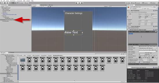 TextMeshPro Text added to Unity UI scene
