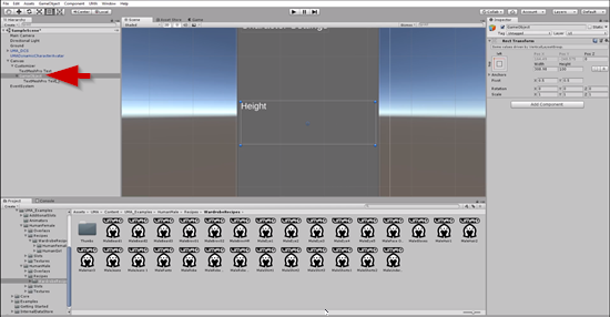 Empty Game Object added to Unity Hierarchy