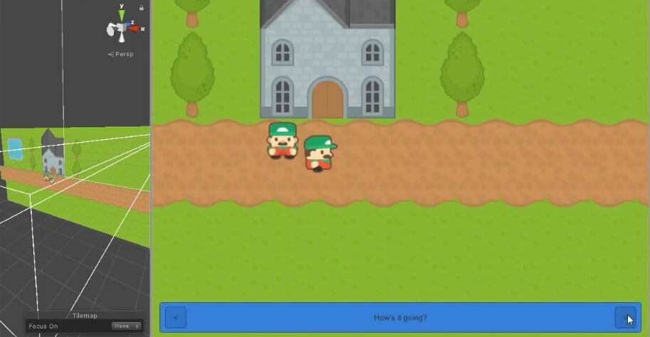 2D RPG made with Unity